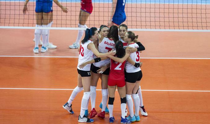 Türkiye A Milli Kadın Voleybol Takımı Avrupa ikincisi