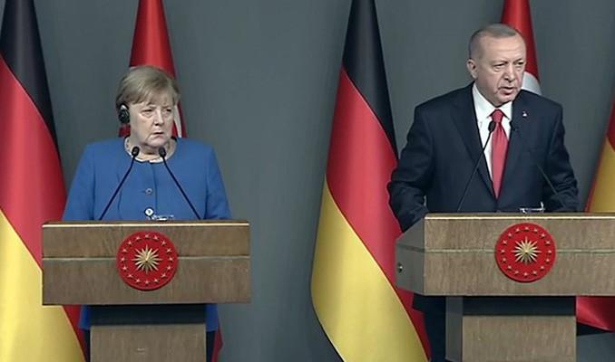 Erdoğan: Türkiye ve Almanya göç konusunda Avrupa'nın yükünü üstlenmiş durumda