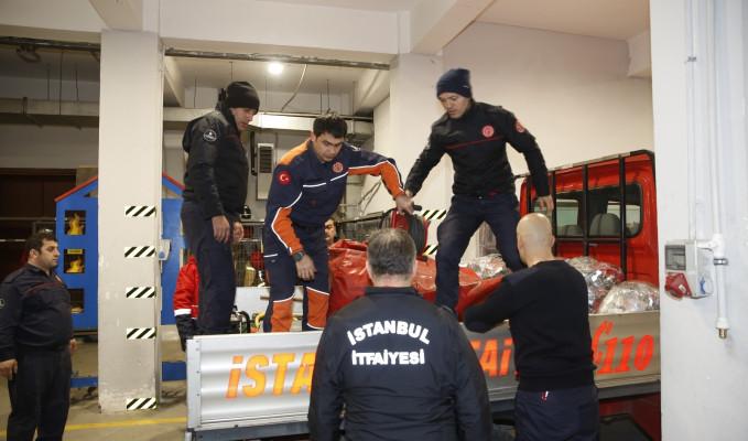İBB Elazığ'a 30 arama kurtarma ekibi gönderdi