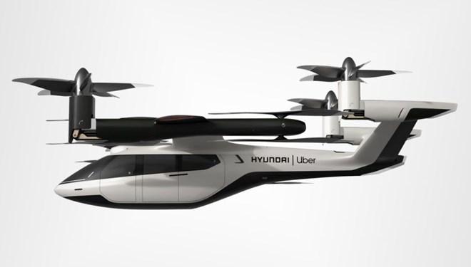 Uber ve Hyundai'den hava taksi işbirliği