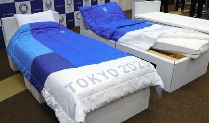 Tokyo Olimpiyatları'na katılacak sporcular için çevreci yatak hazırlanıyor