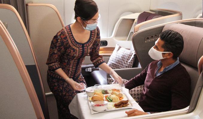 Havayolları için yeni iş modeli: Restoran uçak