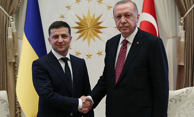 Erdoğan: Türkiye Kırım'ın yasadışı ilhakını tanımayacaktır