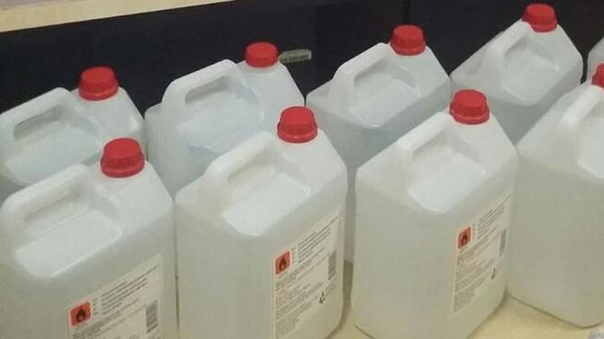 Bodrum'da 545 litre 'etil alkol' ele geçirildi