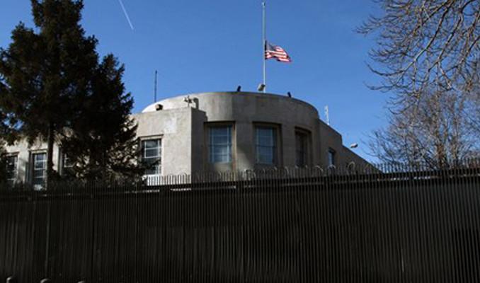 ABD Büyükelçiliği'nde 'güvenlik' nedeniyle işlemler askıya alındı