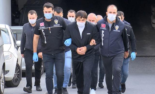 Sınırdışı edilen suç örgütü lideri Guram Chıkladze Beşiktaş'ta yakalandı