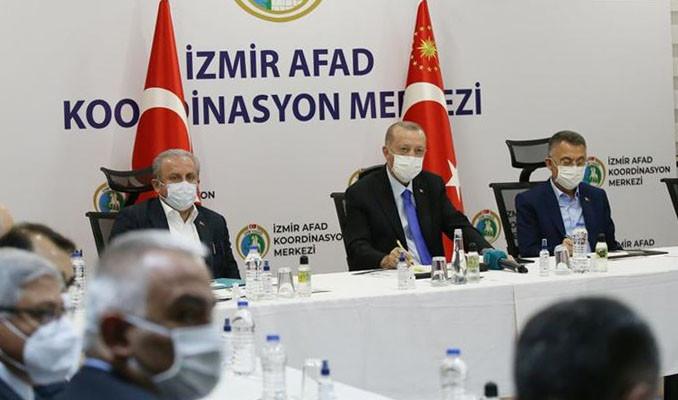Erdoğan: 8 yoğun bakım var, 3'ü ağır