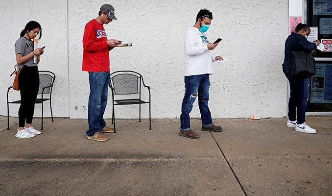 ABD'de işsizlik başvurularında büyük düşüş