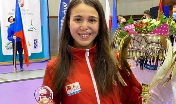 İlke Özyüksel, modern pentatlonda Avrupa şampiyonu oldu