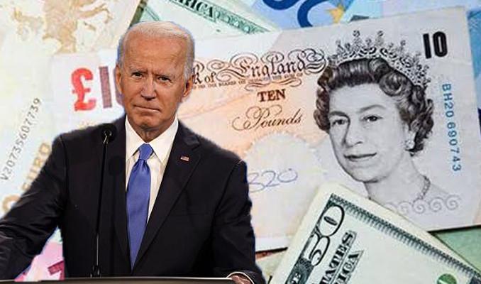 Sterlin Biden'a geç tepki verir