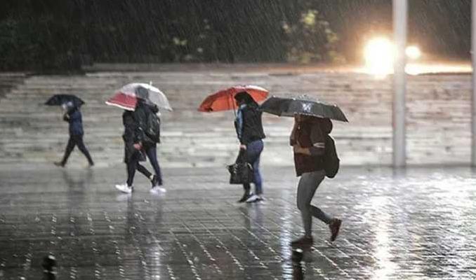 Meteorolojiden o bölgelere yağış uyarısı