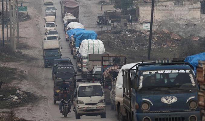 Türkiye sınırına 151 bin sivil daha göç etti
