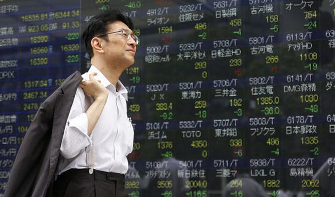 Asya borsaları sert yükseldi
