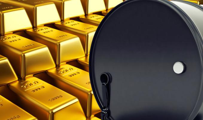 Altın 1,600 doların, petrol 30 doların üzerinde
