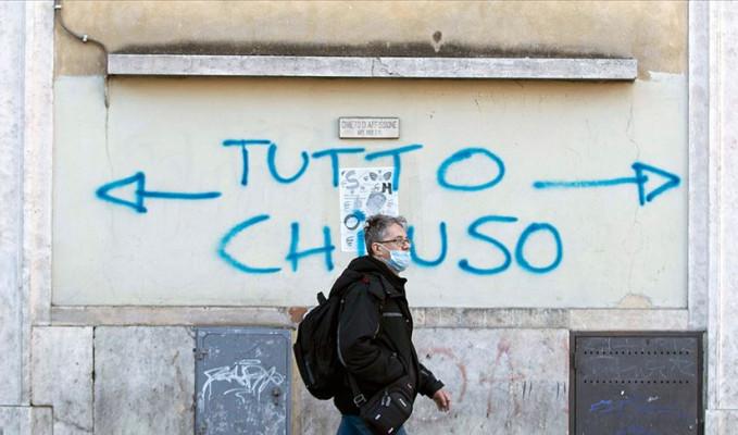 İtalya'da son 24 saatte 683 kişi hayatını kaybetti