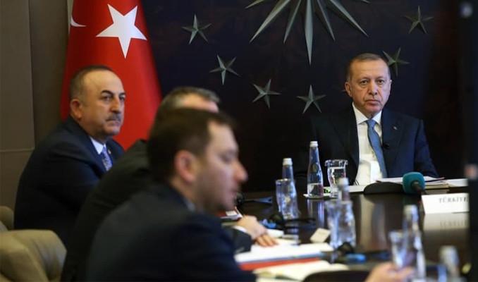 Erdoğan'dan G-20 Liderler Zirvesi'nde koronavirüs çağrısı