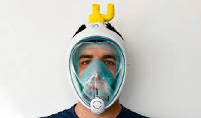 Dalış maskesinden solunum cihazına