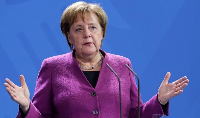 Merkel: Korona virüs 2008 banka ve finans krizinden daha kötü