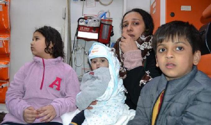 Botları batan göçmenleri Türk Sahil Güvenlik son anda kurtardı