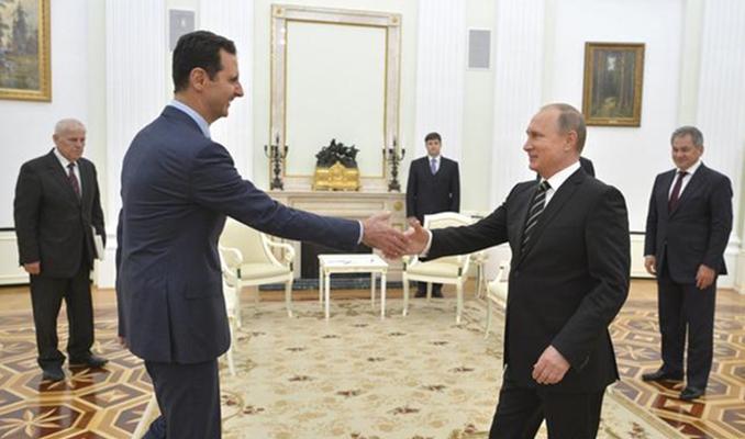 Putin ile Esad İdlib mutabakatını görüştü