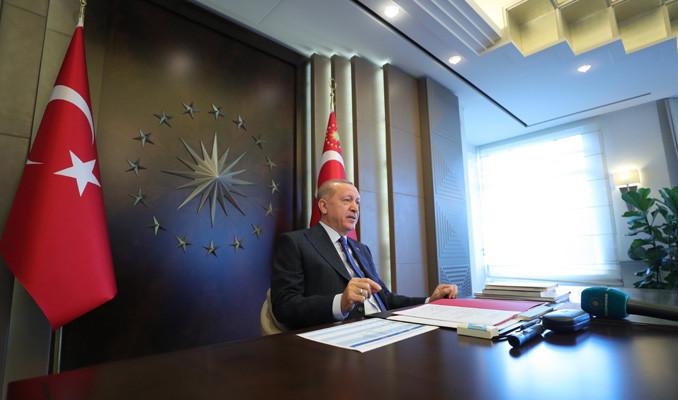 Erdoğan: IMF sevdası Türkiye'yi teslimiyet devrine döndürme özlemi