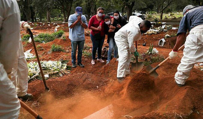Brezilya'da ölü sayısı 21 bini, vaka sayısı 330 bini aştı