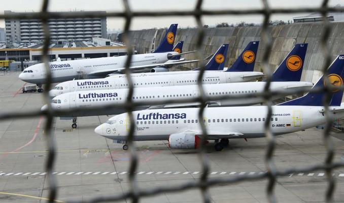 Lufthansa'da 22 bin çalışanın işi risk altında