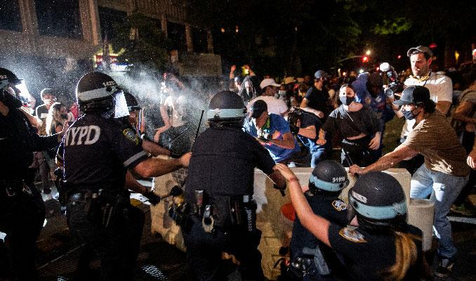 New York Valisi'nden gece sokağa çıkma yasağı ilanı
