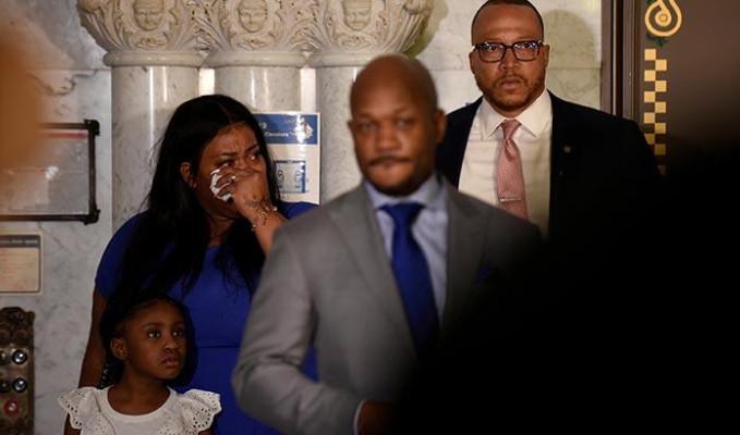Floyd'un ailesi ilk kez kamera karşısında! Gianna'nın artık bir babası yok