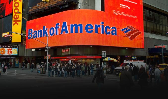 Bank of America'nın karı yüzde 64 düştü