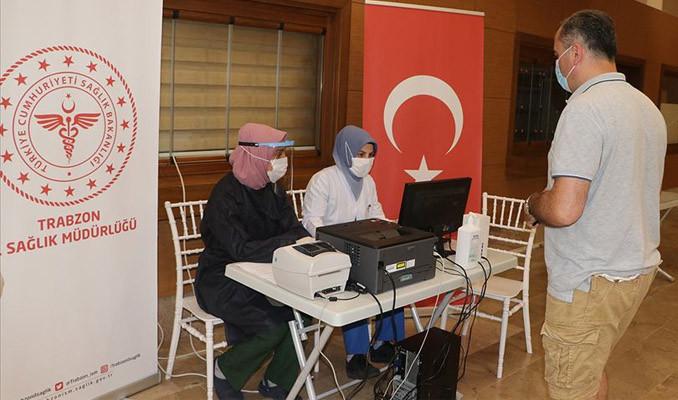 Trabzon Havalimanı'nda Kovid-19 testleri yapılmaya başlandı