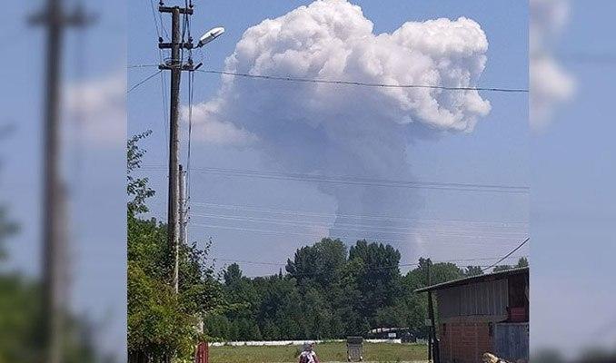 Sakarya'da havai fişek fabrikasında patlama: 4 can kaybı