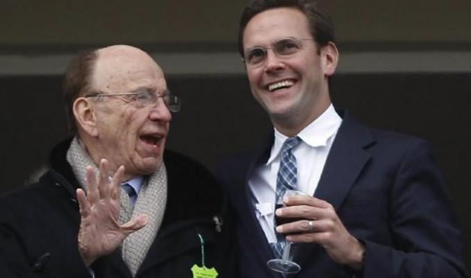 Medya devinde deprem! Baba Murdoch ile oğlunun arasına siyaset girdi