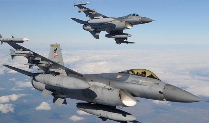 Teröristler Türk jetlerinden kaçamadı