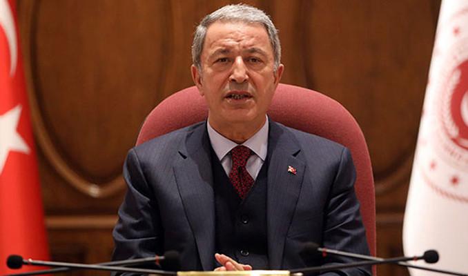 Millî Savunma Bakanı Akar: Hiçbir projenin şansı yok