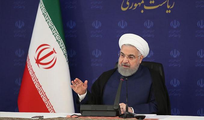 Ruhani'den Trump'a: Siz her zaman savaş peşindeydiniz