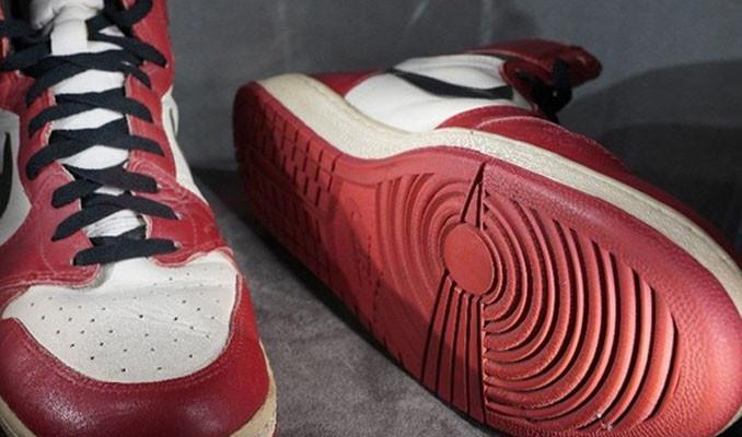 Jordan'ın ayakkabısına 4.5 milyon lira