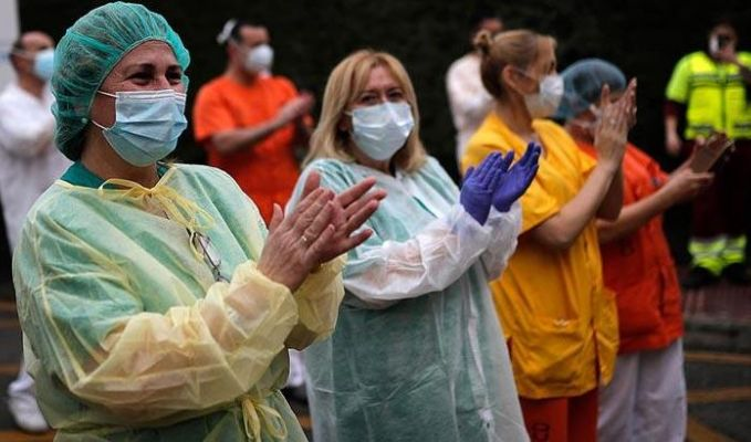 Dünya genelinde Kovid-19'dan iyileşenlerin sayısı 14 milyonu geçti