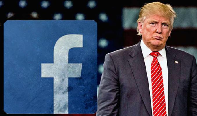 Facebook Trump'ın korona virüs paylaşımını sildi