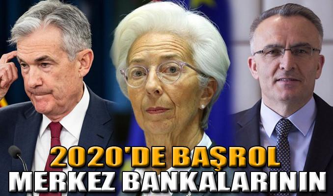 2020'de başrol merkez bankalarının