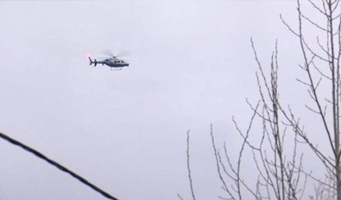 İstanbul'da 'helikopter düştü' ihbarı asılsız çıktı