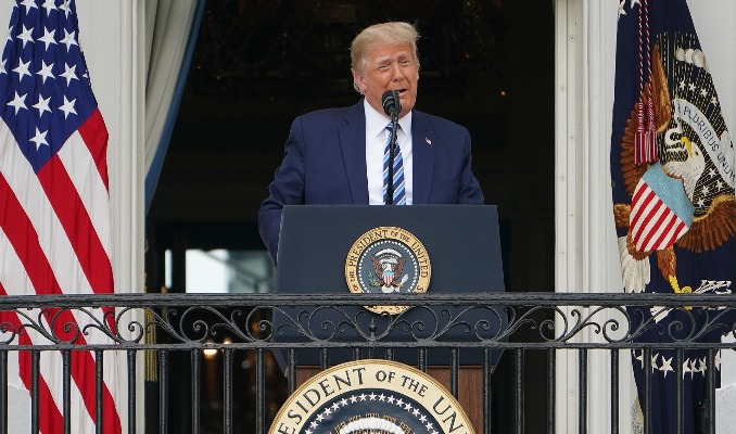 ABD Başkanı Trump'tan sükunet çağrısı