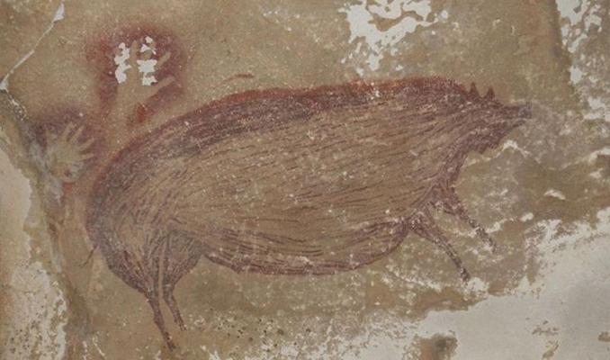 45 bin 500 yıllık hayvan çizimi bulundu