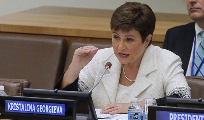 Georgieva: İklim değişikliği ekonomik istikrar için temel risk