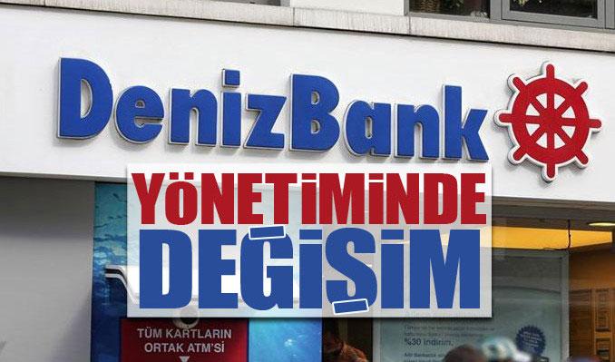 Denizbank yönetiminde değişim