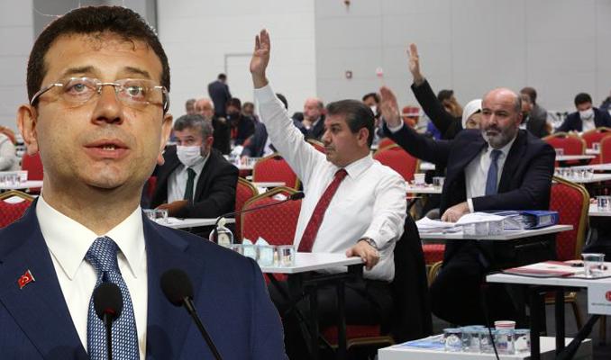 İmamoğlu'nun veto ettiği kararlar meclisten geçti