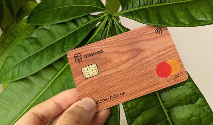 Ahşap banka kartına 5 milyon dolar yatırım