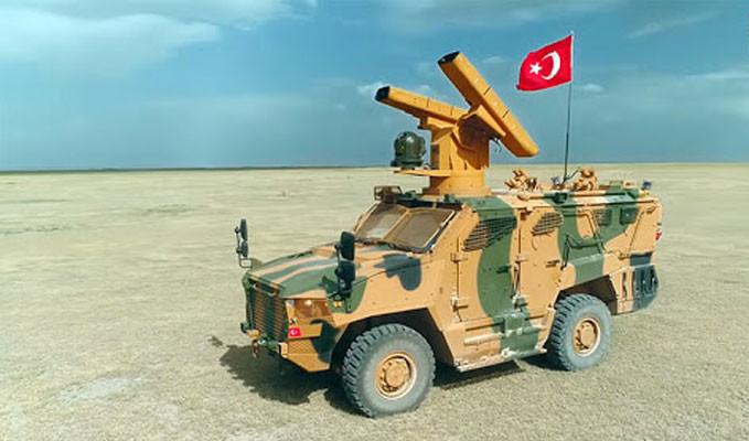 Yerli hava savunma sistemi SUNGUR'dan müjde