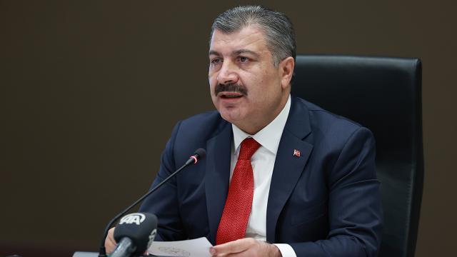 Sağlık Bakanı Koca'dan mutasyonlu virüs açıklaması