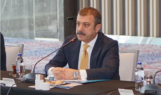 Kavcıoğlu, bankalarla görüştü
